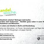 Postkarte Wandelwoche Rückseite