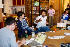 Spannende Diskussionen rund um das Format und die Themen der Wandelwoche