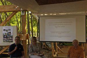 Präsentation und Diskussion in den Prinzessinnengärten