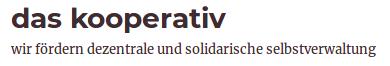 Logo das kooperativ