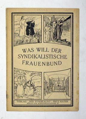 Historisches Plakat Syndikalistischer Frauenbund Berlin